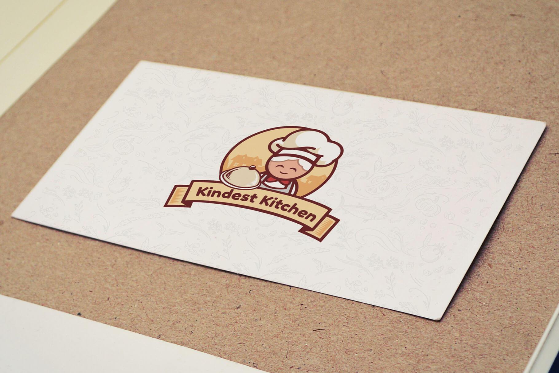 Restaurant logo design by europe graphics. Food company logo design.